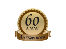 Logo 60 anni Ars Nova Rossi